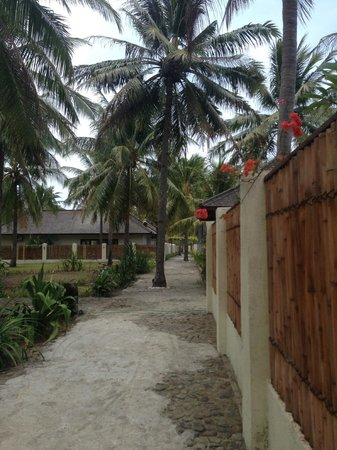 Kelapa Luxury Villas: Way to the Reception