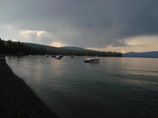 Tahoe Rim Trail: jezioro