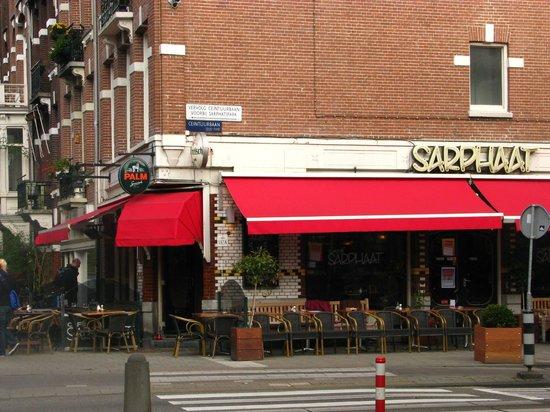 Aalborg Hotel Amsterdam: Restaurante proximo