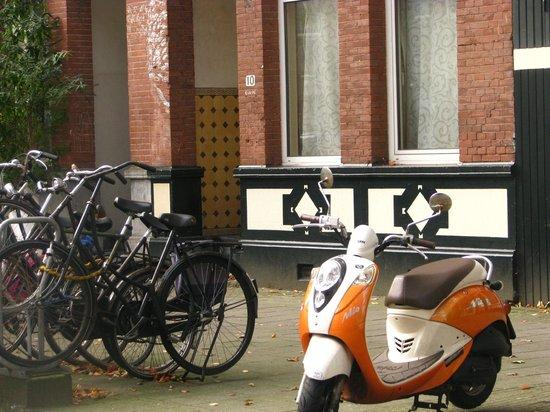 Aalborg Hotel Amsterdam: Rua do Hotel