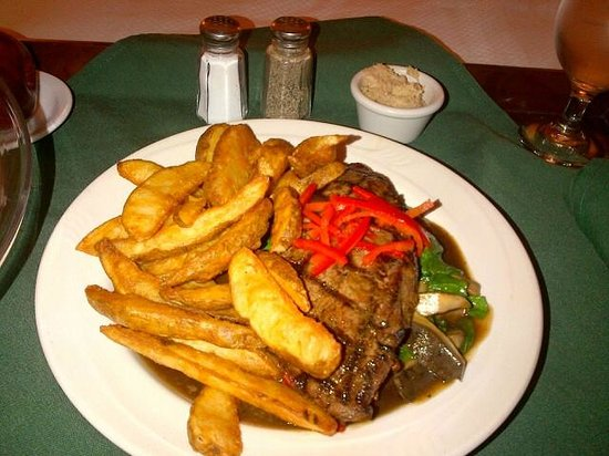 Ivey Spencer Leadership Centre : Steak and Cajun Fries