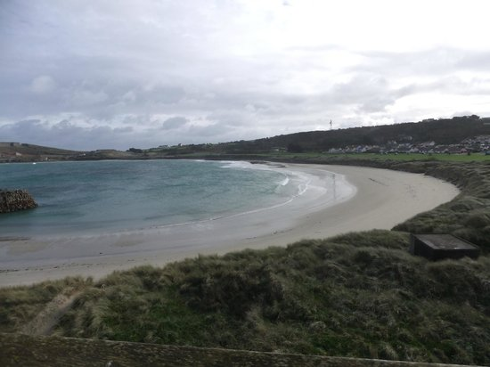 Braye Beach Hotel: The view!