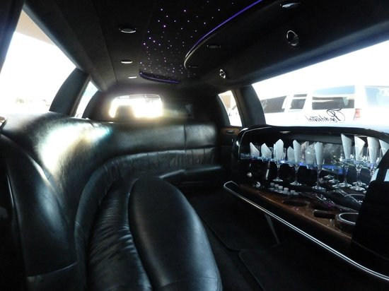 Presidential Limousine: Inside of our Super Stretch Limo
