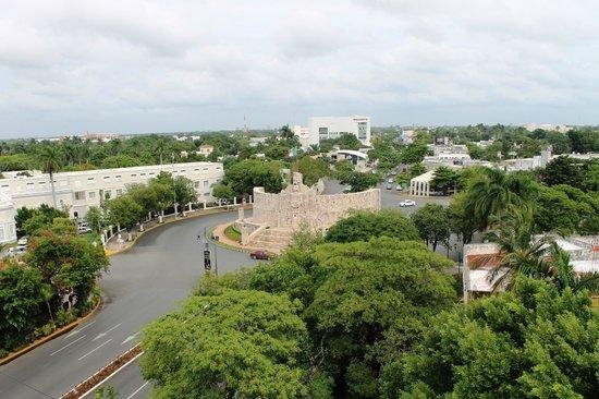 Hotel Victoria: Vista del Monumento a la Patria