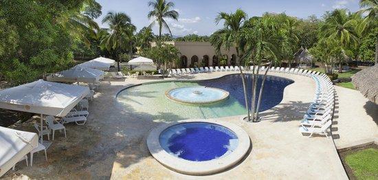 Spa Santa Fe Colonial: Zona de piscina