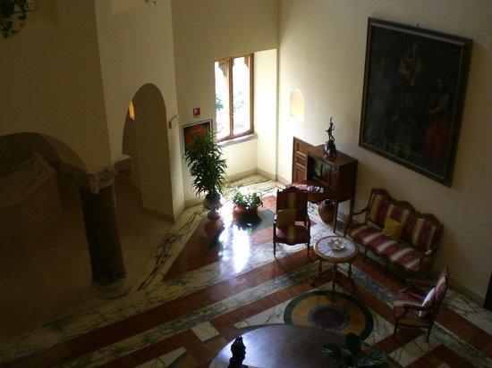 Grand Hotel Dei Castelli: холл