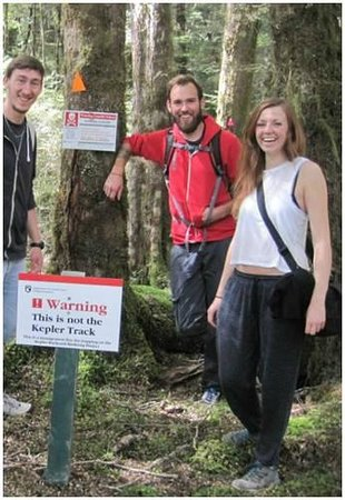 Bushbash - Day Wilderness Expeditions: This is not the Kepler Track! All Bushbash trips are off track and on minor tracks