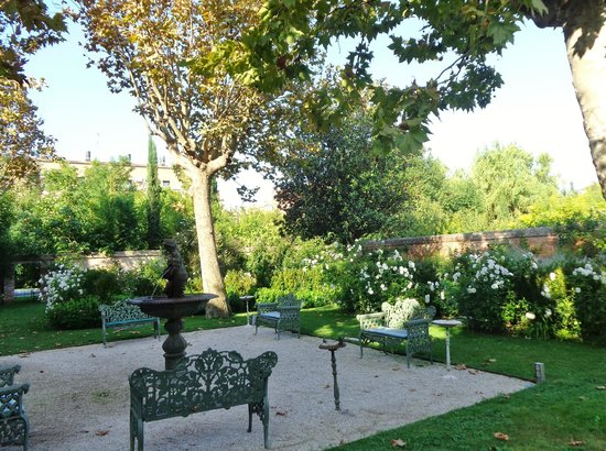 Palladio Hotel & Spa: Jardim do Bauer