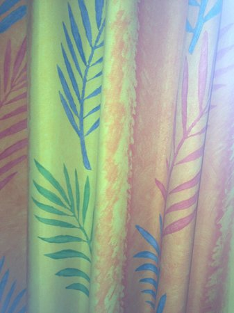 DoubleTree Suites by Hilton Doheny Beach - Dana Point: Blood stains on curtains