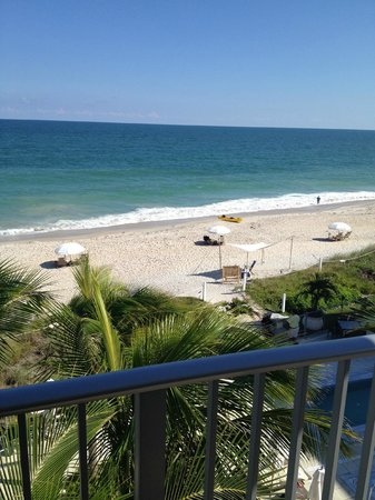 Costa d'Este Beach Resort & Spa: View from our balcony