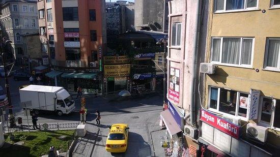 Hotel Sultan: из окна