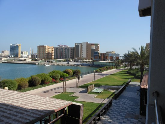 Hilton Ras Al Khaimah Resort & Spa: view from balcony