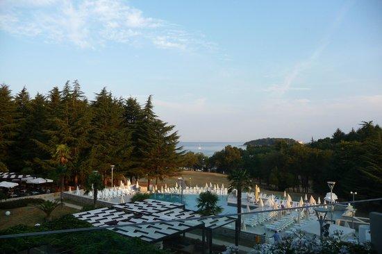 Hotel Laguna Mediteran: Вид на море