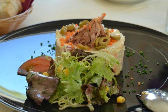 Restaurante Amador: Ensaladilla de Langostinos