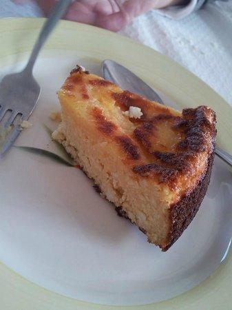 Hortelã da Ribeira, A Descoberta: Tarte de queijo fresco