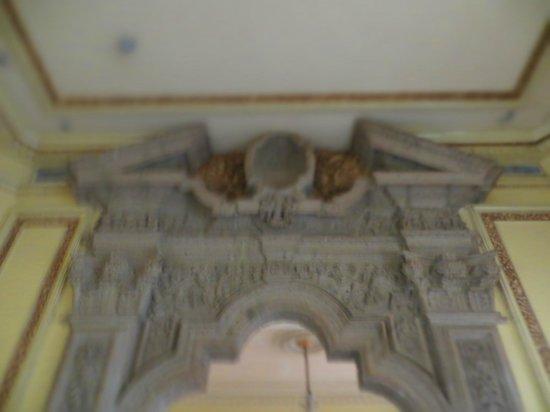 House of Tiles (Casa de los Azulejos): interior room upstairs details