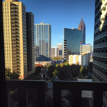 Hyatt Regency Atlanta: View from room 852