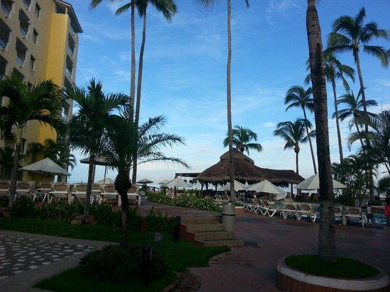 Plaza Pelicanos Grand Beach Resort: Recepcion