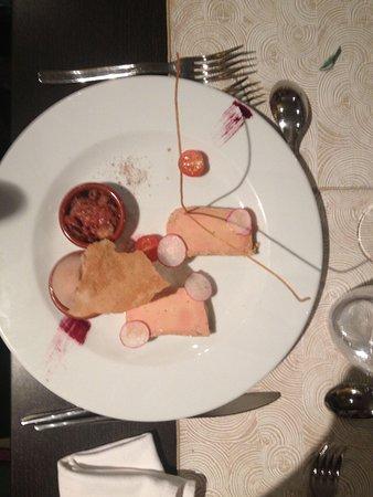 Le Gourmet: Foie gras