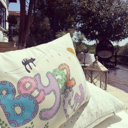 Beyaz Ev Agva: bahçe