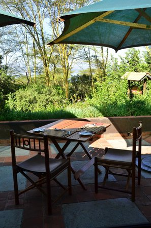 Sarova Lion Hill Game Lodge: Dining Balcony