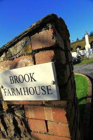 Brook Farm House: Entrée de la maison