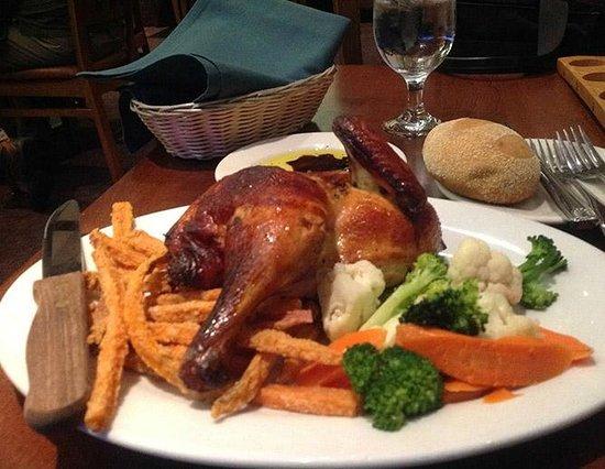 Sierra Nevada Brewing Company: The Roast Chicken Dinner is Superb!