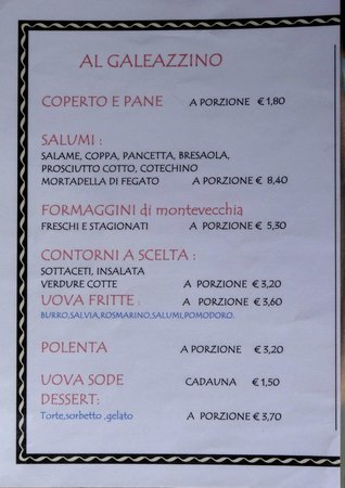 Trattoria Al Galeazzino, Montevecchia - Restaurant Reviews, Phone ...