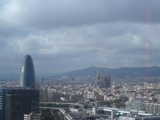 Melia Barcelona Sky: vista desde la habitacion