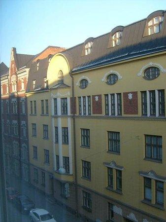 Original Sokos Hotel Albert: Вид из окна.
