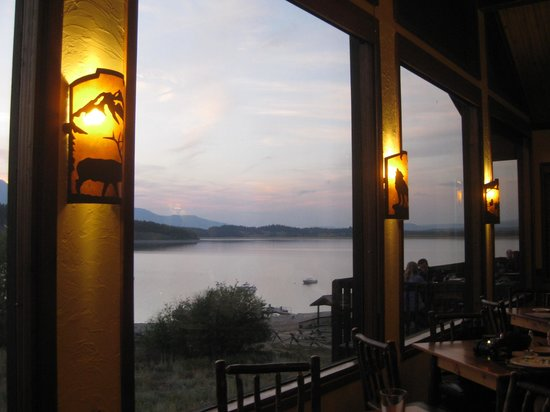 Signal Mountain Lodge: View from the restaurant