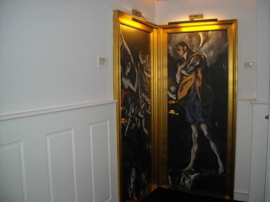 Gran Melia Colon : Puerta de habitación