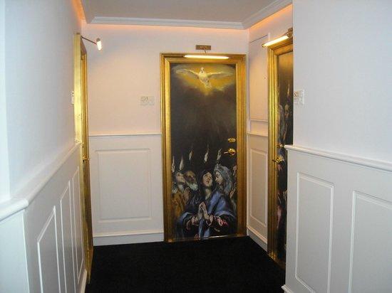 Gran Melia Colon: Puerta de habitación