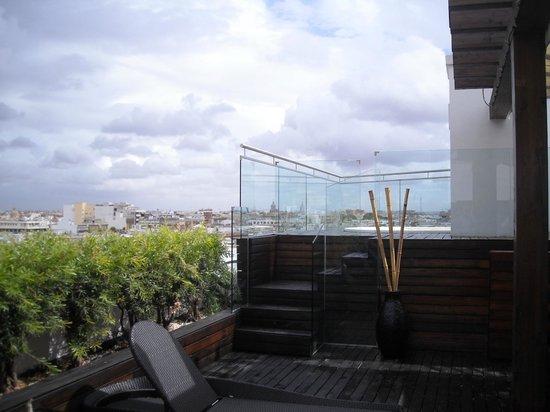 Gran Melia Colon: Jacuzzi de la terraza