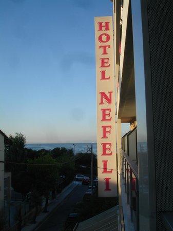 Nefeli Hotel: вид с балкона