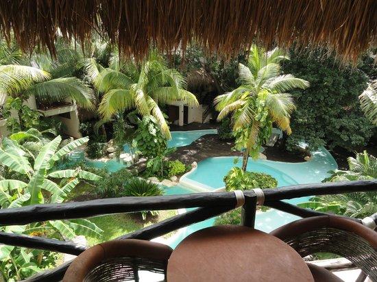 La Tortuga Hotel & Spa: vista da sacada Suite Junior