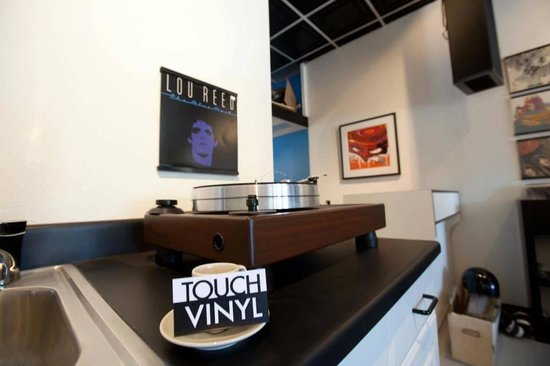 Touch Vinyl: Will miss you Lou.
