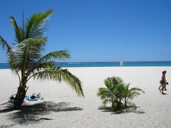 Managaha Island: Белый песок