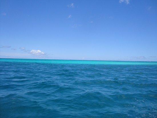 Managaha Island: Бирюзово синее море