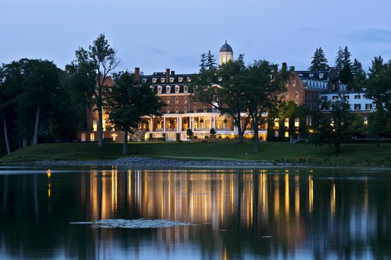 The Otesaga Resort Hotel: The Otesaga at dawn