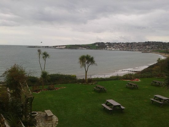 Grand Hotel Swanage: This was was late on in the season but trust me the views are amazing