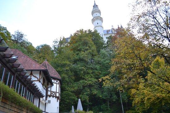Schlossrestaurant Neuschwanstein: отель рядом с замком