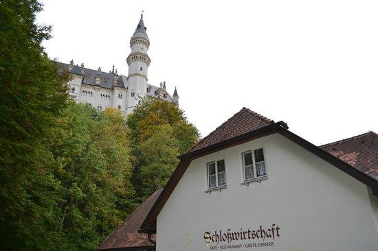 Schlossrestaurant Neuschwanstein : отель рядом с замком