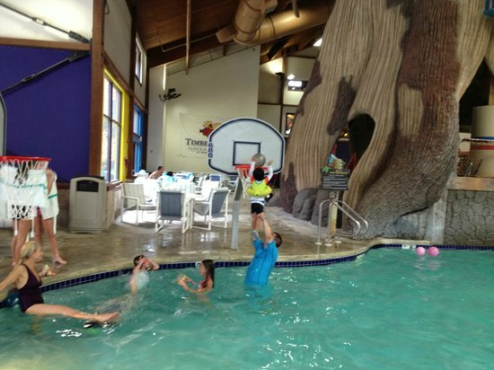 Timber Ridge Lodge & Waterpark : Basketball!