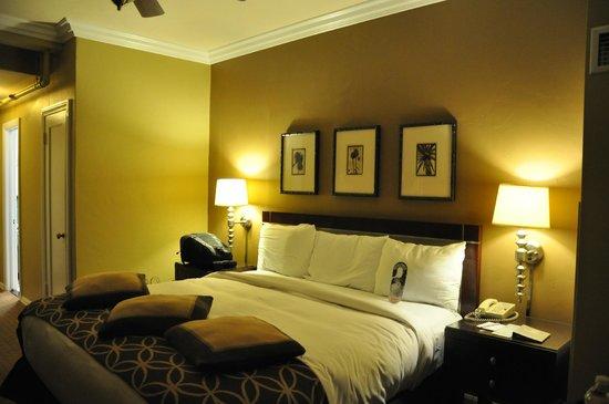 The Georgian Hotel : Cama maravilhosa