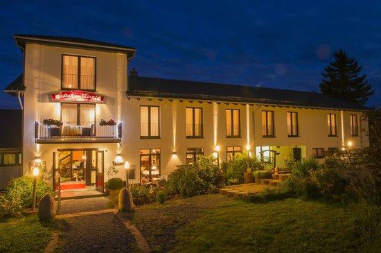 AstenRose - Landhotel am Rothaarsteig: Abendstimmung