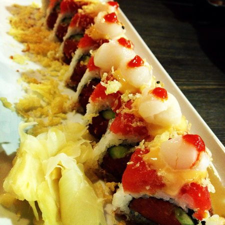 Orange Roll and Sushi: Monterey Roll