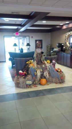 Holiday Inn Conference Center Marshfield : Hotel Lobby