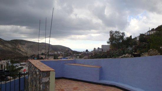 Refugio Romano: Vista desde la Terraza Superior