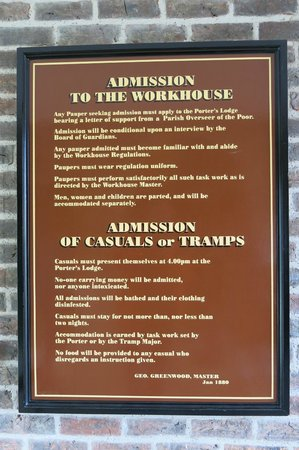 Workhouse Museum: Workhouse sign